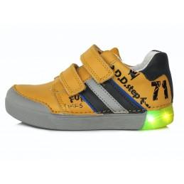 Geltoni LED batai 31-36 d....