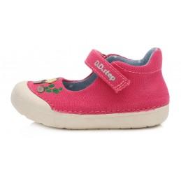Rožiniai canvas batai 20-25...