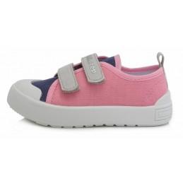 Rožiniai canvas batai 23-25...