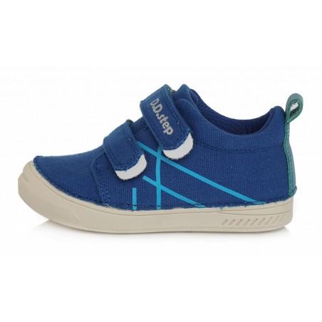 Mėlyni canvas batai 31-36 d. C040234L