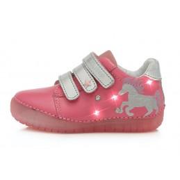 Rožiniai LED batai 31-36 d....