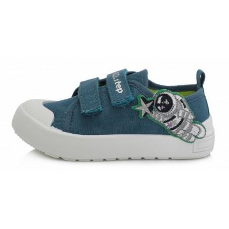 Mėlyni canvas batai  26-31 d. CSB148M