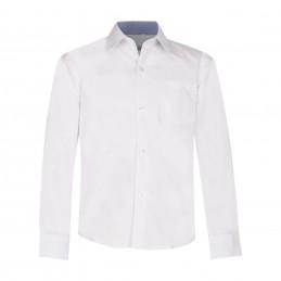 Balti marškiniai ilgomis...