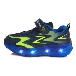 Mėlyni sportiniai LED batai...