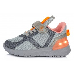 Pilki sportiniai LED batai...