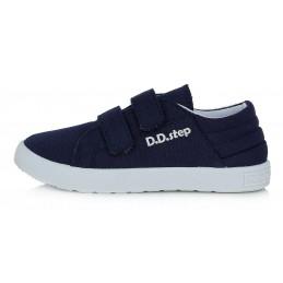 Tamsiai mėlyni canvas batai...