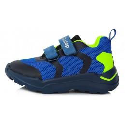 Mėlyni sportiniai batai...