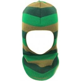 Dryžuota kepurė-šalmas su...