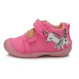 Rožiniai canvas batai 19-24...