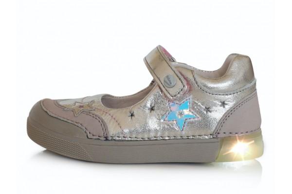 Sidabriniai LED batai 31-36 d. 06851BL