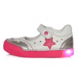 Sidabriniai LED batai 31-36...