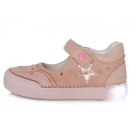 Rožiniai LED batai 25-30 d. 06851AM