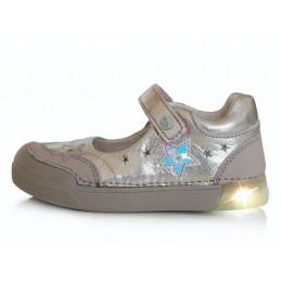 Sidabriniai LED batai 25-30...