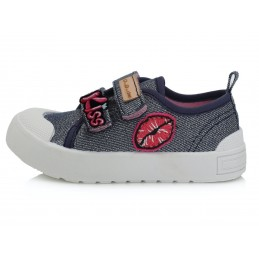 Sidabriniai canvas batai...