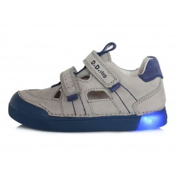 Šviesiai pilki LED batai...