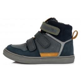 Tamsiai mėlyni batai su...
