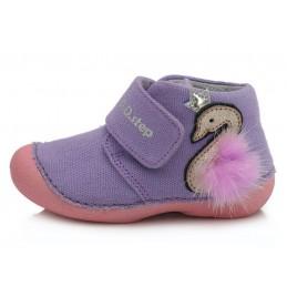 Violetiniai canvas batai...