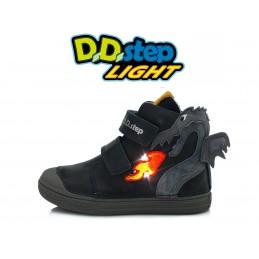 Tamsiai mėlyni LED batai...