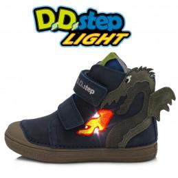 Mėlyni LED batai 25-30 d....