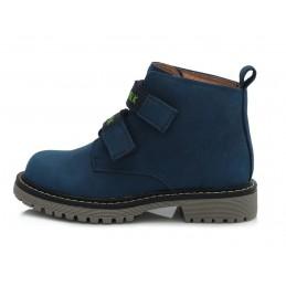 Mėlyni batai su plonu...